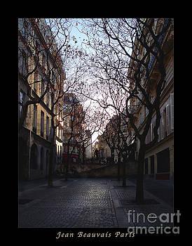 Felipe Adan Lerma - Jean Beauvais Paris Evening Light