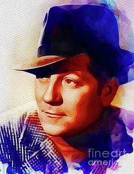 John Springfield - Jean Gabin, Vintage Movie Star