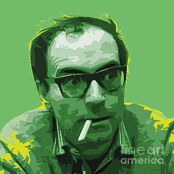 Jean Luc Godard by Jean luc Comperat