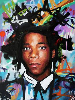 Jean, Michel, Basquiat II by Richard Day