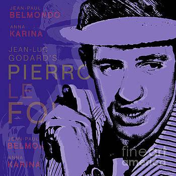 Jean Paul Belmondo Pop Art by Jean luc Comperat