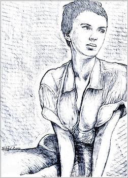 Jean Seberg by Didier DidGiv