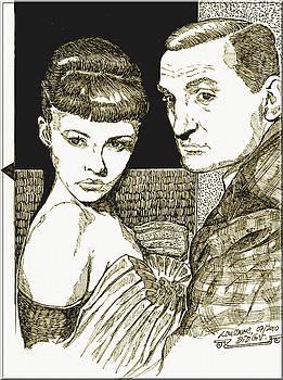 Jeanne Moreau - Lino Ventura by Didier DidGiv