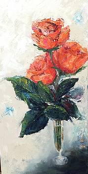 Jeannie's Roses by Debbie Frame Weibler