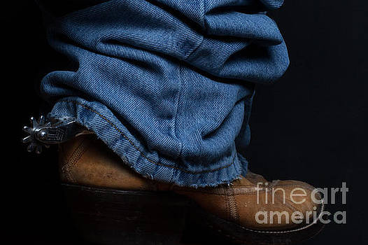 Jeans and Cowboy Boots by DS Dodd