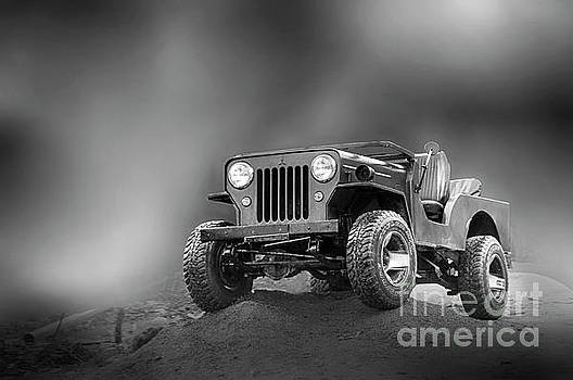 Jeep BW by Charuhas Images