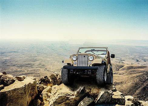 Jeep On a Mountain by Brian Kinney