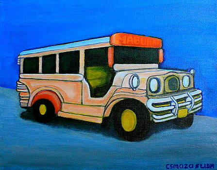 Jeepney by Lorna Maza