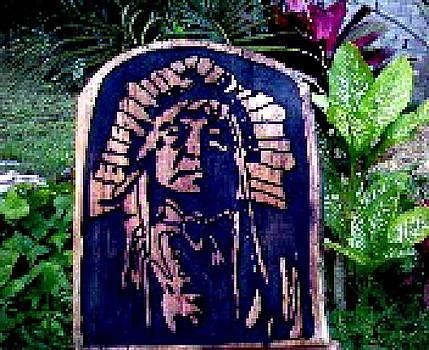 Jefe Sioux by Calixto Gonzalez