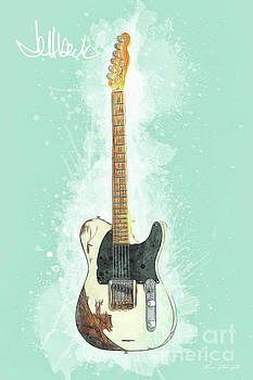 Jeff Beck Guitar by Tim Wemple