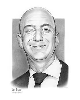 Jeff Bezos by Greg Joens