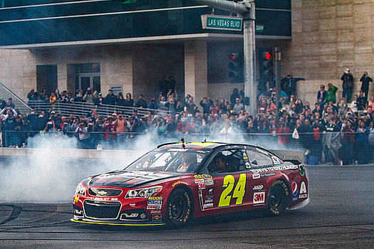 Jeff Gordon - The Final Burnout  by James Marvin Phelps