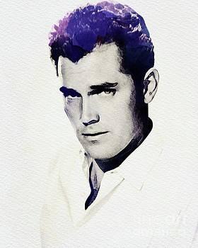 John Springfield - Jeff Hunter, Vintage Actor