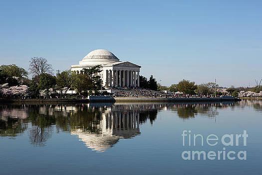 Jefferson Memorial Cherry Blossom Festival by Steven Frame