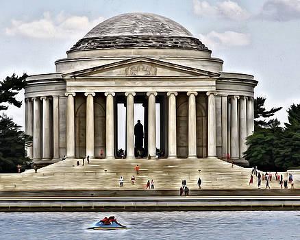 Jefferson Memorial by Joe Paniccia