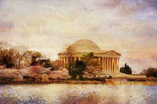 Lois Bryan - Jefferson Memorial Just Past Dawn