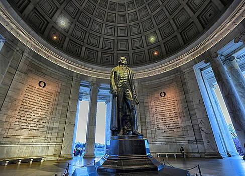 Jefferson's Dome 2 by Scott Fracasso