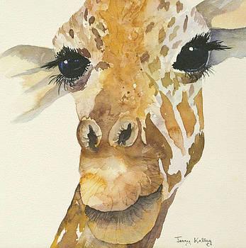 Jeffrey Giraffe by Jerry Kelley
