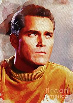 John Springfield - Jeffrey Hunter as Captain Pike