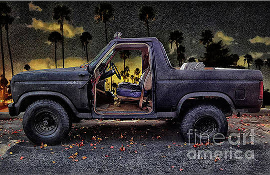 Jeff's Jeep and the Fallen Leaves by Bob Winberry