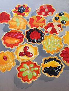 Jello Tarts by Michelle Fattibene