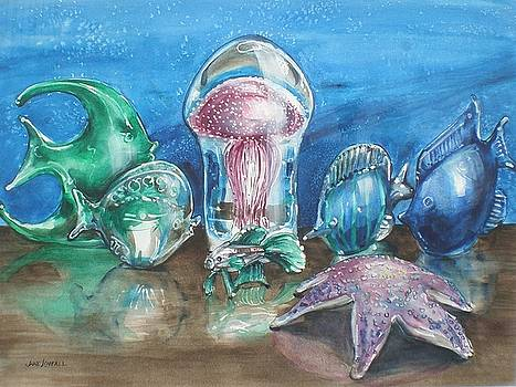 Jelly Under Glass by Jane Loveall