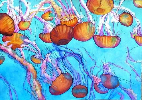 Jellyfish Adrift by Gail Zavala