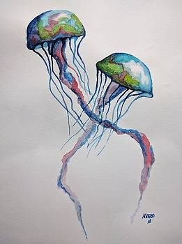Jellyfish by Edwin Alverio
