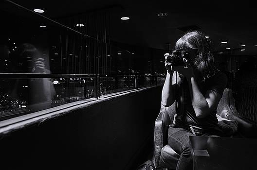 Jen Reflection by Kelly E Schultz