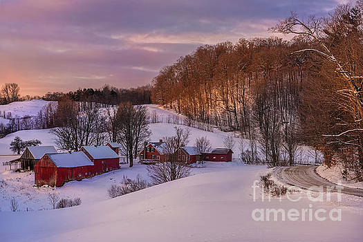 Expressive Landscapes Fine Art Photography by Thom - Jenne Farm Winter Scenic