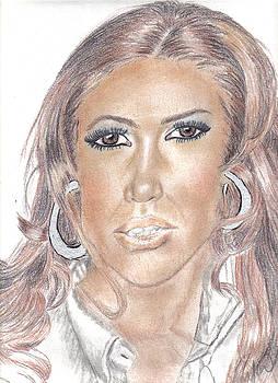 Jennifer Lopez by Thomasina Marks