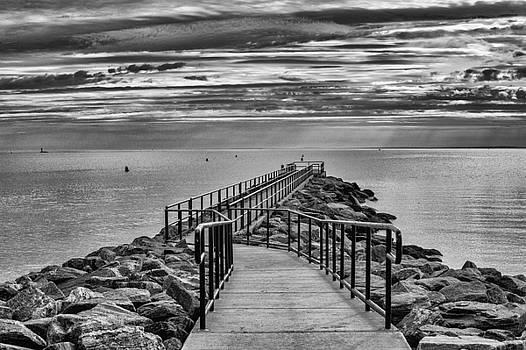 Jennings Beach Dock by Michael Gallitelli