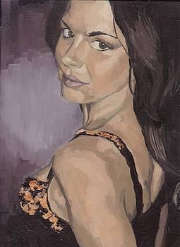 Jenny in Black by Stephen Panoushek