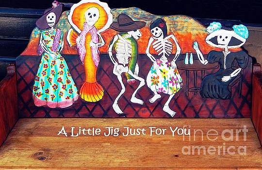 Sharon Williams Eng - Jerome Ghosts A Little Jig Card