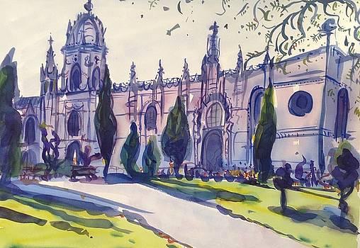 Jeronimos Monastery, Lisbon by Virginia Vovchuk