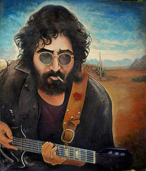 Jerry Garcia by Anthony DiLorenzo