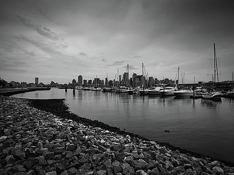 Jersey City Yacht Club by Valerie Morrison