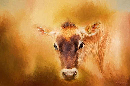 Michelle Wrighton - Jersey Cow Farm Art