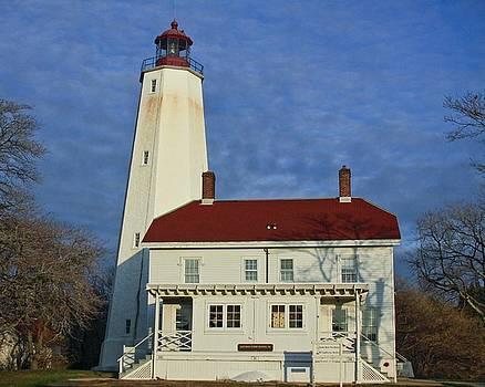 Jersey Light House by Bessie Reyes