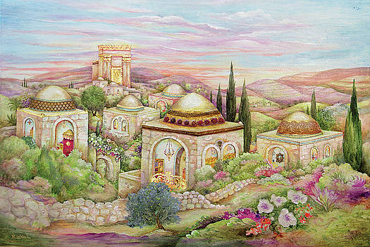 Jerusalem 36x24 by Michoel Muchnik