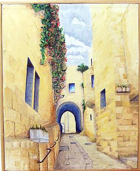 Jerusalem by Basma Saadeh