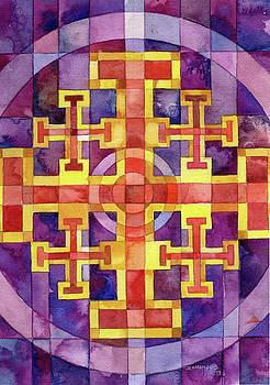 Jerusalem Cross by Mark Jennings