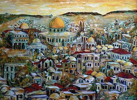 Jerusalem holy city by Baruch Neria-Kandel