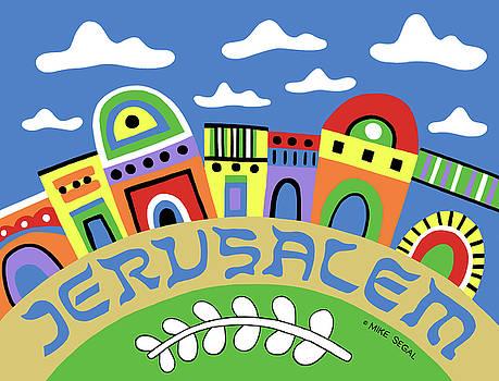Jerusalem by Mike Segal