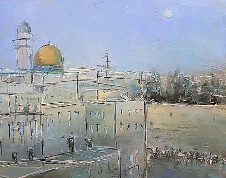 Jerusalem by Rafal Kilimnik