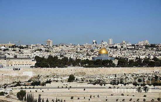 Compuinfoto  - jerusalem skyline