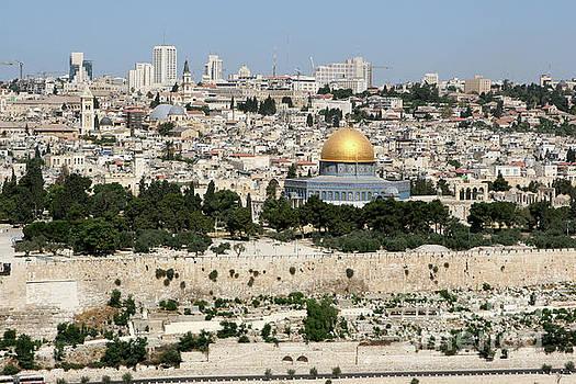 Jerusalem Skyline by Steven Frame