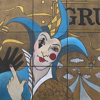 Jester In Blue by Susanne Clark