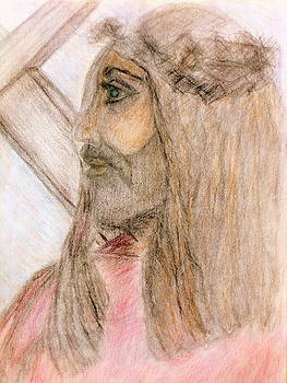 Jesus and the Cross  by Deborah Yeager