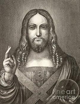 R Muirhead Art - Jesus Christ